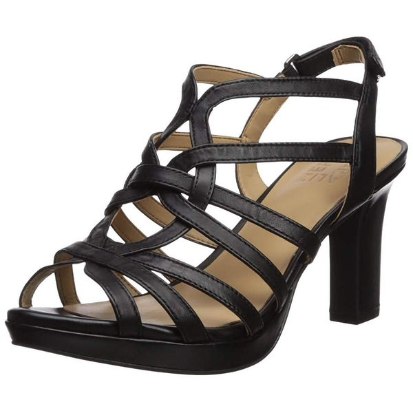 a29a31d3612 Shop Naturalizer Womens Flora Peep Toe Casual Strappy Sandals - Free ...