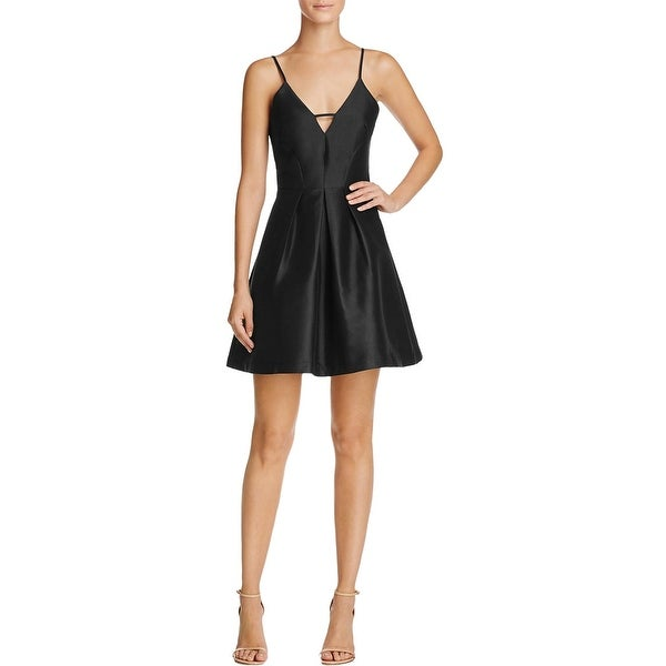 Shop Mustard Seed Womens Party Dress Fit Amp Flare Pleated