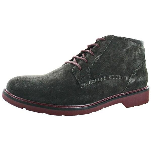 Geox Garret Men's Suede Ankle Chukka Boots