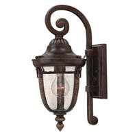 "Hinkley Lighting 2900 1-Light 16.25"" Height Outdoor Lantern Wall Sconce from the Key West Collection - Regency Bronze - N/A"