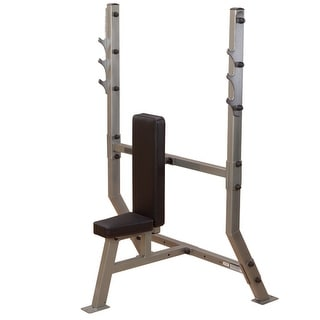 Body-Solid ClubLine Olympic Shoulder Press Bench - metal