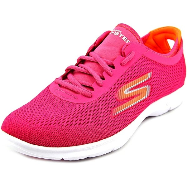 Skechers Go Step Sport Women Round Toe Synthetic Pink Walking Shoe