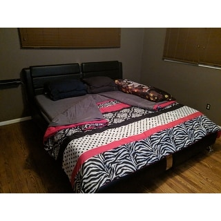 Mi Zone Gemma Pink Stripe 3-piece Comforter Set