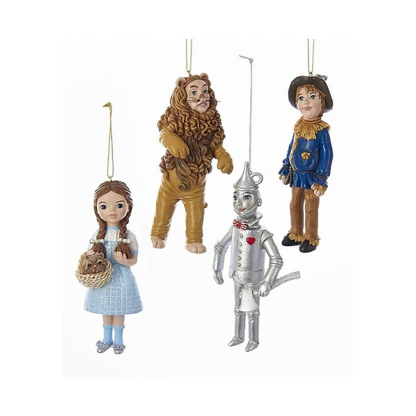 Wonderful Wizard of Oz 4pc Ornament Set