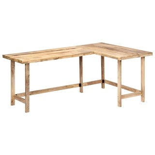 "vidaXL Desk 71""x47.2""x30"" Solid Mango Wood"