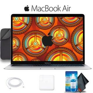 Apple 13.3 MacBook Air with Retina Display 1.6GHz Dual-Core i5 CPU, 8GB RAM, 128GB SSD Bundle Silver