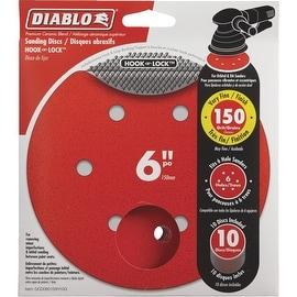 "Diablo 10Pk 6""150G Sanding Disc"