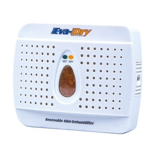 Eva-Dry Mini Dehumidifier - Renewable Reusable Removes Moisture from Small Areas