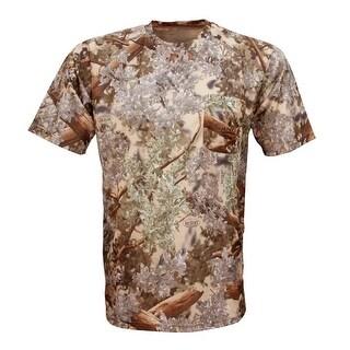 King's Camo Hunter Short Sleeve Shirt Desert Shadow - Camouflage
