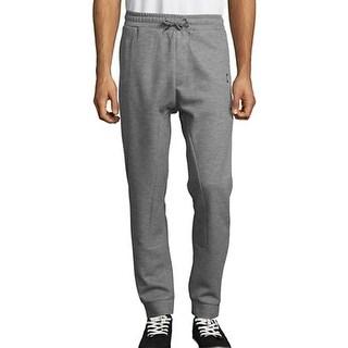 Strellson NEW Silver Gray Mens Size XL Drawstring Stretch Pants