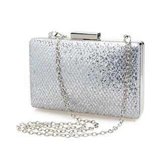 Ladies Compact Fashion Sequins Clutch Evening Bags Purse Shoulder Handbags