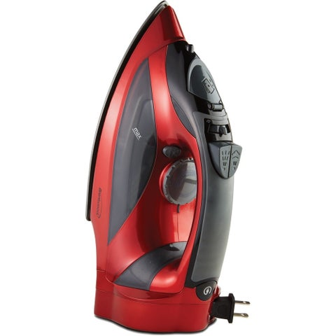 Brentwood Appliances - Mpi-59R - Steam Iron/Retrct Crd Red