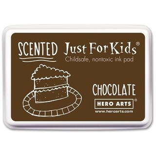 Hero Arts 1536855 Kids Scented Ink Pad, Chocolate Scent - Brown