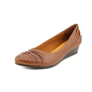 Baretraps Landy Open Toe Leather Wedge Heel