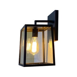 Trey 1 Light Outdoor Wall Mounted Lighting - 10W x 11L x 17H in.