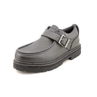 Lugz Garvin Men Round Toe Synthetic Black Work Shoe