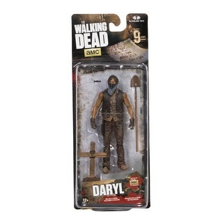 The Walking Dead TV Series 9 Action Figure: Muddy Grave Digger Daryl Dixon - multi