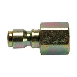 """Forney 75135 Quick Connect Female Plug, 1/4"""", 5500 Psi"""