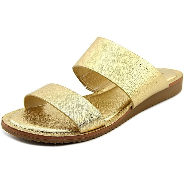 Michael Michael Kors Millie Slide Women Gold Slides Sandal