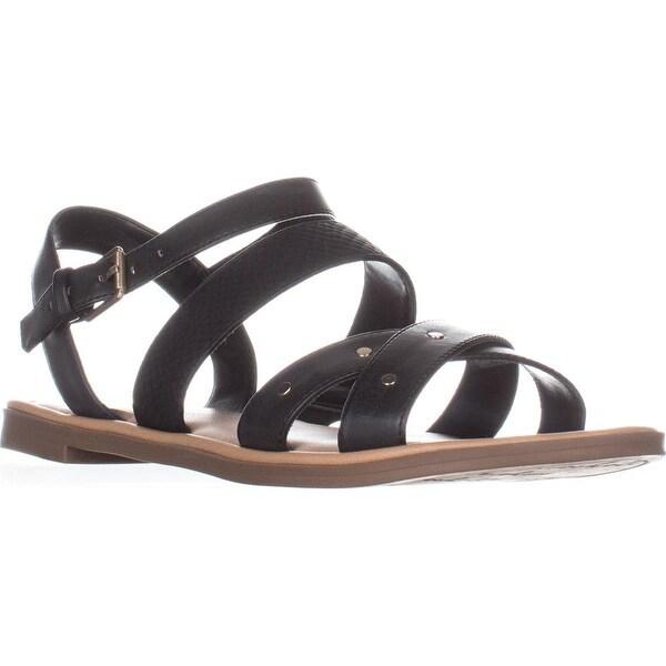 Dr. Scholl's Evelyn Flat Sandals, Black - 11 us / 41 eu