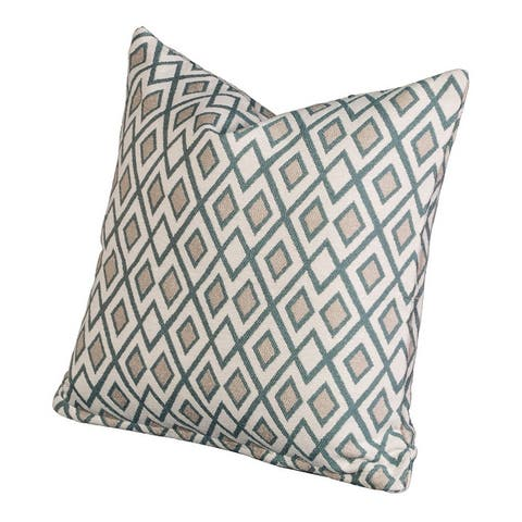 Timeless Geometric Indoor/Outdoor Accent Pillow