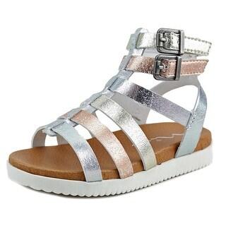 Nina Kids Kandiss Open Toe Synthetic Gladiator Sandal