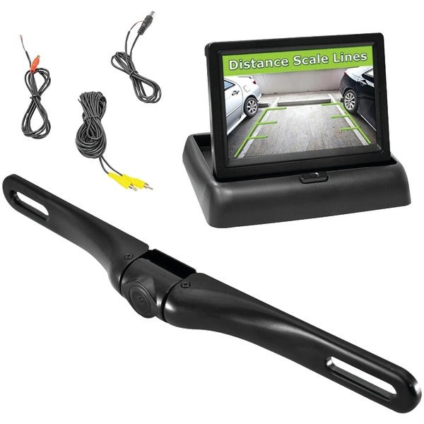 PYLE PRO PLCM4500 Rearview Backup Swivel Camera & Pop-up Monitor System