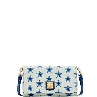 Dooney & Bourke NFL Dallas Cowboys Daphne Crossbody Wallet (Introduced by Dooney & Bourke at $178 in Aug 2017)