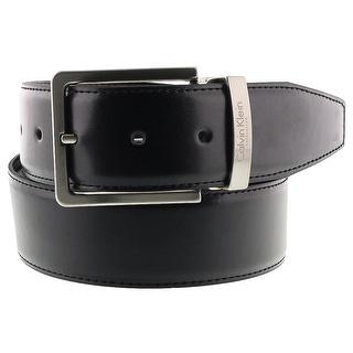 Calvin Klein Reversable NERO MORO Black/Brown Mens Belt