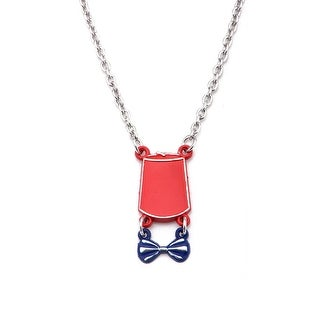 Doctor Who Fez & Bowtie Necklace - Red