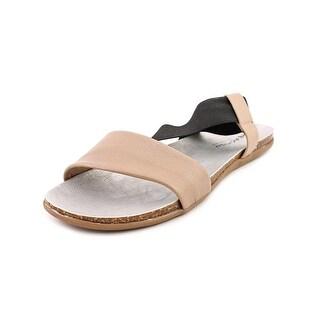 Kenneth Cole Reaction Slim Shake Open Toe Leather Slides Sandal