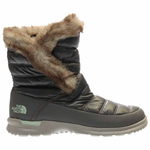 The North Face Womens Thermoball Microbaffle Bootie II Closed Toe Ankle Cold ...