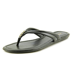 Marc Fisher Alesandra2 Women Open Toe Leather Flip Flop Sandal