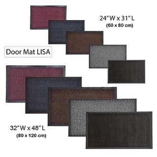 Link to Multi Size Indoor Large Door Mat Lisa Similar Items in Decorative Accessories