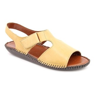 Auditions Sprite Open-Toe Leather Slingback Sandal