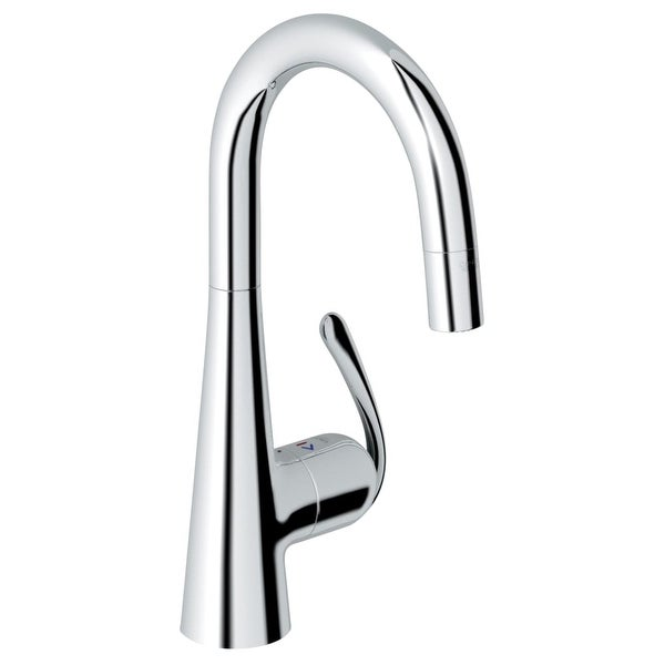 Shop Grohe 32 283 Ladylux3 Pro High-Arc Bar Faucet with 2-Function ...