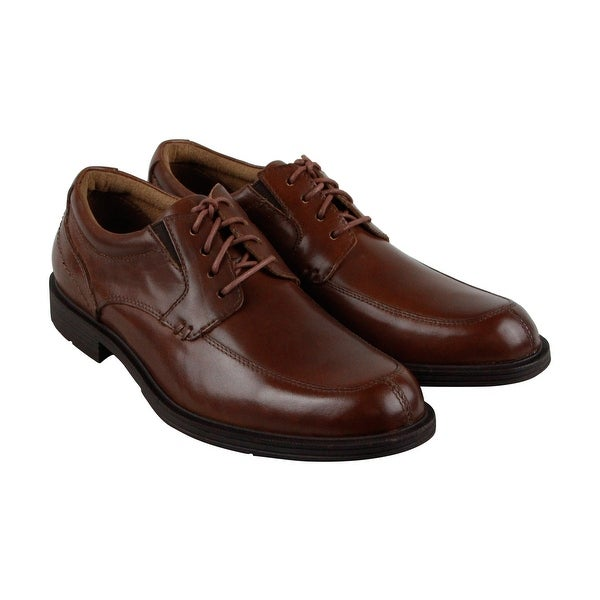 Florsheim Mogul Moc Ox Mens Brown Leather Casual Dress Oxfords Shoes