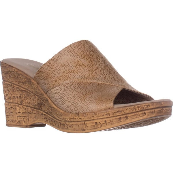 ea6af2036d5c Shop Finest by Onex Christina Peep Toe Mule Sandals