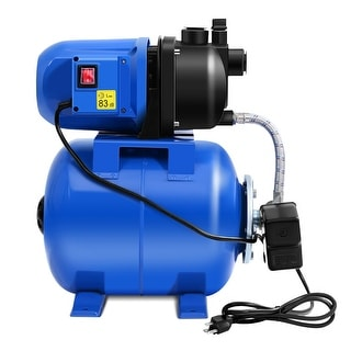 Costway 1200W Garden Water Pump Shallow Well Pressurized - as pic