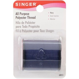Navy - All-Purpose Polyester Thread 150yd