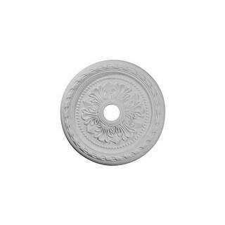 "Ekena Millwork CM23PM 23.625"" Wide Palmetto Ceiling Medallion"