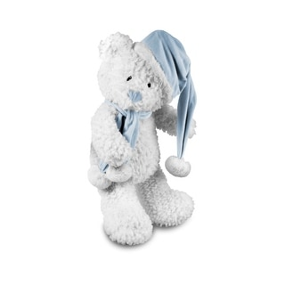 Link to Beverly Hills Teddy Bear Company Winter Baby Bear Blue Similar Items in Stuffed Toys