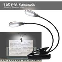 Partysaving Dual Arm Flexible Book and Music Stand Light, OS0087 - N/A