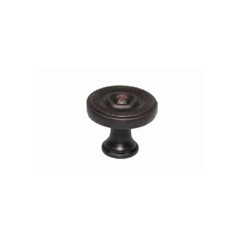 "Jamison Collection K82524 Jamison III 15/16"" Diameter Mushroom Cabinet Knob - Oil Rubbed Bronze"