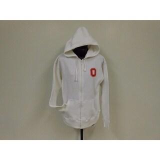 -Minor-Flaw Ohio State Buckeyes Womens Size M Medium Hoodie Full-Zip Jacket