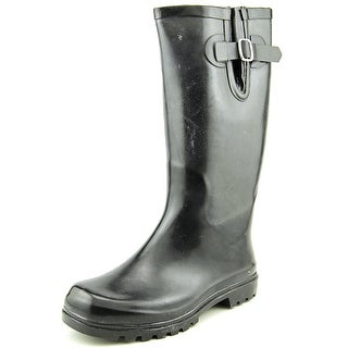 Nomad Puddles Round Toe Synthetic Rain Boot
