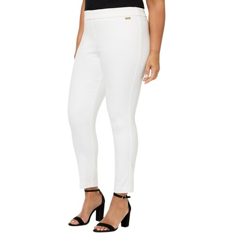 Calvin Klein Womens Plus Skinny Pants Office Wear Special Occasion