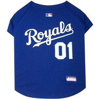 Kansas City Royals Dog Jersey - Extra Small