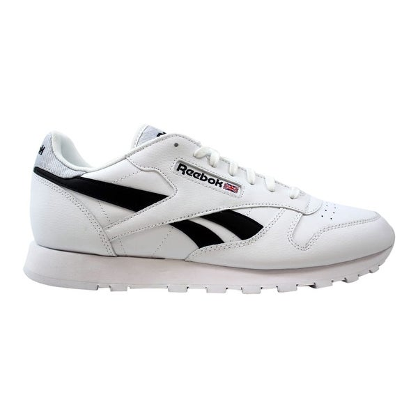 Shop Reebok Classic Leather Mens Black Leather Athletic
