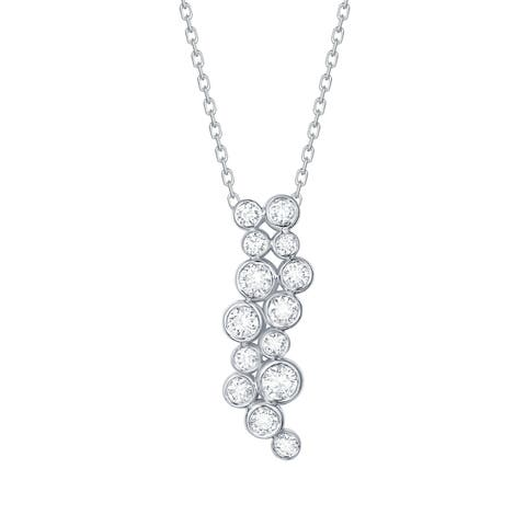Smiling Rocks Bubbly Collection 0.47Ct G-H/VS1 Lab Grown Diamond Pendant